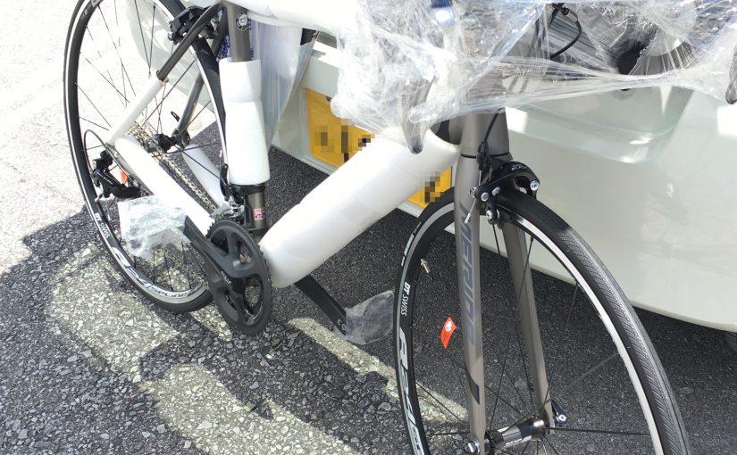 注文していたロードバイクが届きました。